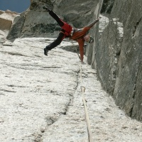 chamonix_grand capucin_voie petit 8b, photo-P
